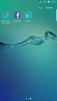 Samsung Galaxy S6 Edge + - Aplicações - Como configurar o WhatsApp -  4