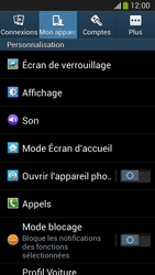 Samsung C105 Galaxy S IV Zoom LTE - Messagerie vocale - configuration manuelle - Étape 6