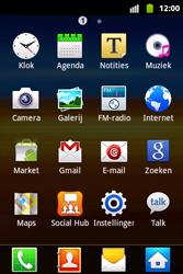 Samsung S5690 Galaxy Xcover - E-mail - Hoe te versturen - Stap 3