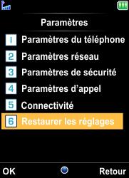 Bouygues Telecom Bc 101 - Aller plus loin - Restaurer les paramètres d'usines - Étape 4