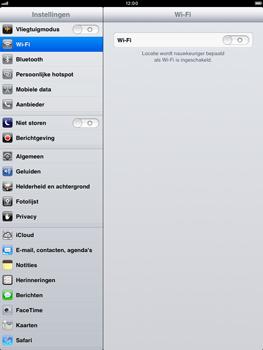 Apple iPad mini - Bellen - in het buitenland - Stap 3