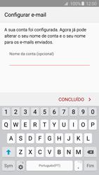 Samsung Galaxy S6 Edge - Email - Adicionar conta de email -  9