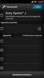 Sony ST26i Xperia J - Bluetooth - connexion Bluetooth - Étape 10