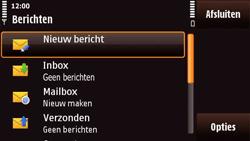 Nokia N97 Mini - E-mail - Handmatig instellen - Stap 4