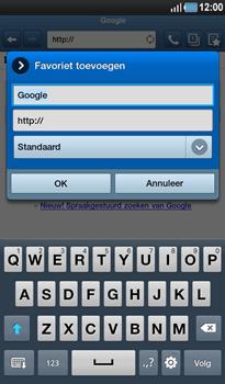 Samsung P1000 Galaxy Tab - Internet - hoe te internetten - Stap 5