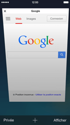 Apple iPhone 5 iOS 7 - Internet - Navigation sur Internet - Étape 11