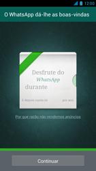 Wiko Darkmoon - Aplicações - Como configurar o WhatsApp -  10