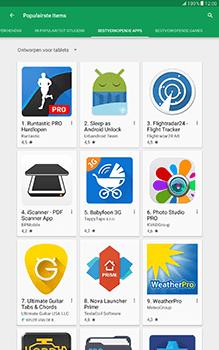 Samsung Galaxy Tab A 10.1 (SM-T585) - Applicaties - Downloaden - Stap 11