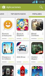 LG Optimus L5 II - Aplicaciones - Descargar aplicaciones - Paso 13