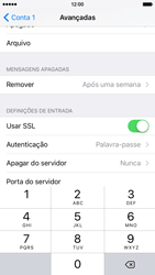 Apple iPhone 6 iOS 9 - Email - Configurar a conta de Email -  23