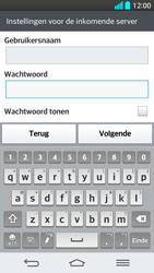 LG G2 - E-mail - Handmatig instellen - Stap 12