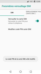 Crosscall Core X3 - Sécuriser votre mobile - Personnaliser le code PIN de votre carte SIM - Étape 10