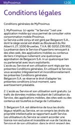 Nokia Lumia 530 - Applications - MyProximus - Étape 11