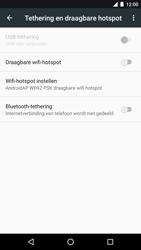LG Nexus 5x - Android Nougat - WiFi - Mobiele hotspot instellen - Stap 6