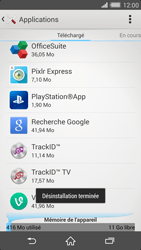 Sony Xperia Z2 - Applications - Supprimer une application - Étape 8