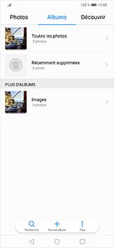 Huawei Mate 20 lite - Photos, vidéos, musique - Envoyer une photo via Bluetooth - Étape 5