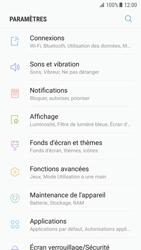 Samsung Galaxy S7 - Android Nougat - Internet - activer ou désactiver - Étape 4