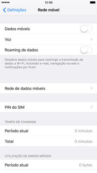 Apple iPhone 6s Plus - Internet no telemóvel - Como ativar os dados móveis -  4