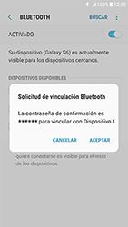 Samsung Galaxy S6 - Android Nougat - Bluetooth - Conectar dispositivos a través de Bluetooth - Paso 8