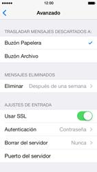 Apple iPhone 5s - E-mail - Configurar correo electrónico - Paso 22