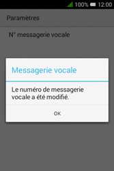 Alcatel Pixi 3 - 3.5 - Messagerie vocale - Configuration manuelle - Étape 10