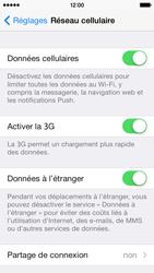 Apple iPhone 5 - Aller plus loin - Désactiver les données à l'étranger - Étape 4