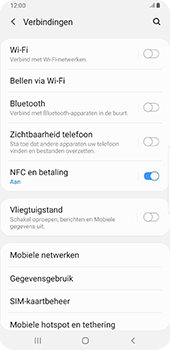 Samsung Galaxy S9 Plus - Android Pie - Netwerk - gebruik in het buitenland - Stap 8