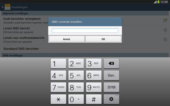 Samsung P5220 Galaxy Tab 3 10-1 LTE - SMS - handmatig instellen - Stap 7