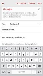 Samsung Galaxy S6 - E-mail - Escribir y enviar un correo electrónico - Paso 19