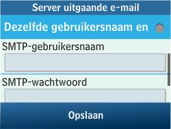 Samsung C3500 Chat 350 - E-mail - Handmatig instellen - Stap 19