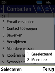 Samsung Xcover 550 (SM-B550H) - Contacten en data - Contacten kopiëren van SIM naar toestel - Stap 6