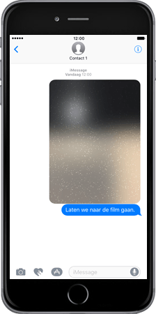 Apple iPhone 7 Plus - iOS features - iMessage functies - Stap 7