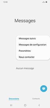 Samsung Galaxy A50 - SMS - configuration manuelle - Étape 6