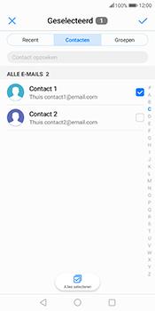 Huawei Mate 10 Pro - E-mail - E-mails verzenden - Stap 6