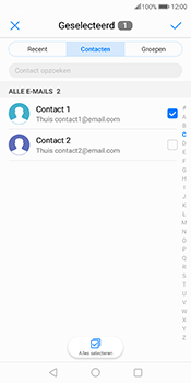 Huawei Mate 10 Pro - E-mail - hoe te versturen - Stap 6