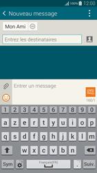 Samsung Galaxy Alpha - Contact, Appels, SMS/MMS - Envoyer un SMS - Étape 9
