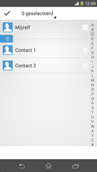 Sony Xperia M2 4G (D2303) - Contacten en data - Contacten overzetten via Bluetooth - Stap 6