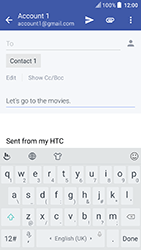 HTC U Play - Email - Sending an email message - Step 9