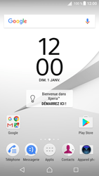 Sony Xperia Z5 (E6653) - Android Nougat - Internet - Examples des sites mobile - Étape 1