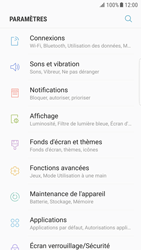 Samsung Galaxy S6 Edge - Android Nougat - Wifi - configuration manuelle - Étape 3