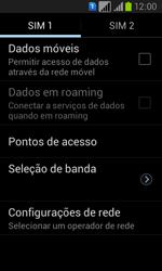 Samsung GT-I8552B Galaxy Win Duos - Rede móvel - Como ativar e desativar uma rede de dados - Etapa 7
