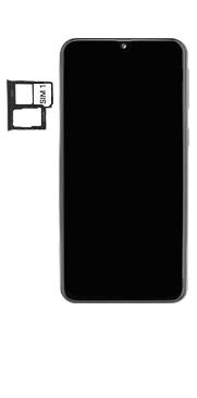 Samsung Galaxy A40 - Appareil - comment insérer une carte SIM - Étape 4