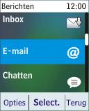 Nokia 113 - E-mail - Handmatig instellen - Stap 5