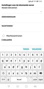 LG Q7 - E-mail - Account instellen (POP3 met SMTP-verificatie) - Stap 12