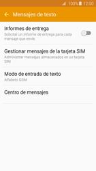 Samsung Galaxy S6 - Mensajería - Configurar el equipo para mensajes de texto - Paso 8