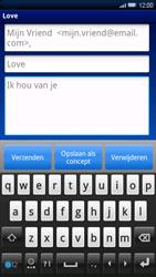 Sony Ericsson Xperia X10 - E-mail - Hoe te versturen - Stap 8