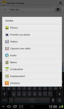 Samsung P3100 Galaxy Tab 2 7-0 - MMS - envoi d'images - Étape 9