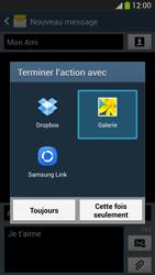 Samsung I9505 Galaxy S IV LTE - MMS - envoi d'images - Étape 15