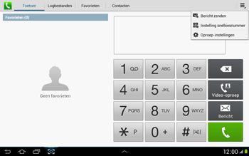 Samsung N8000 Galaxy Note 10-1 - Voicemail - handmatig instellen - Stap 5
