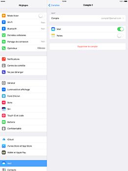 Apple iPad Pro 12.9 (1st gen) - iOS 10 - E-mail - Configuration manuelle - Étape 18